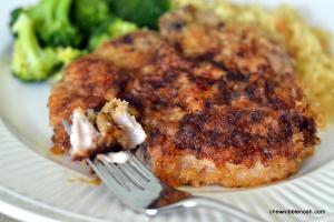 Grandma's Baked Pork Chops - Chew Nibble Nosh