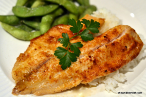 Quick and Easy Citrus Garlic Tilapia - Chew Nibble Nosh
