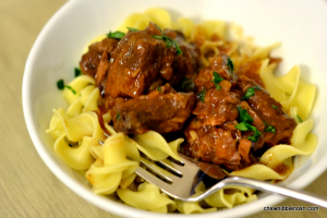 Slow Cooker Beef Goulash - Chew Nibble Nosh