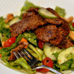 Barbecue Steak Salad with Currant Vinaigrette