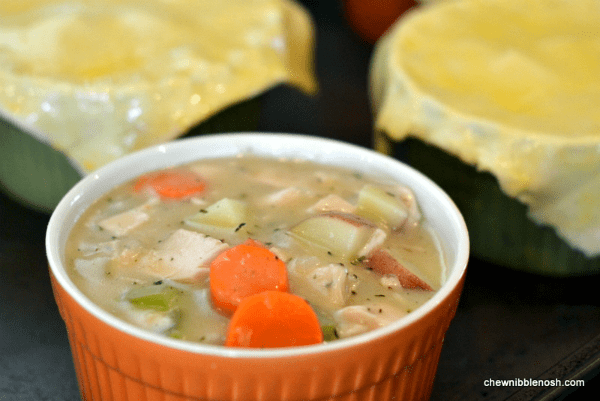 Chicken Pot Pies with Puff Pastry 4 - Chew Nibble Nosh