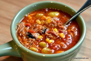 Brunswick Stew - Chew Nibble Nosh #recipe