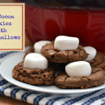 Hot Cocoa Cookies with Marshmallows