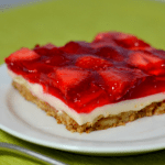 Fresh Strawberry Pretzel Salad