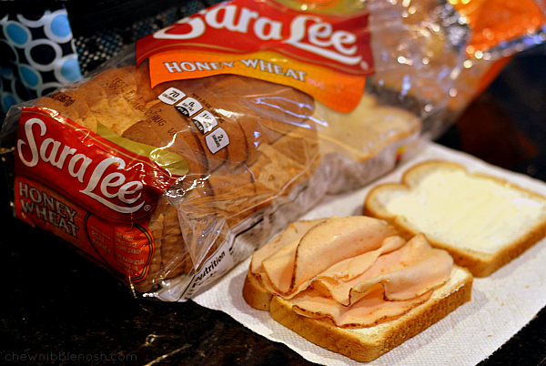 Sara Lee Loveable Lunch Notes - Chew Nibble Nosh