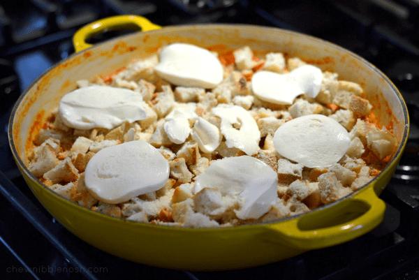 Skillet Chicken Parmesan with Artichokes - Chew Nibble Nosh 6