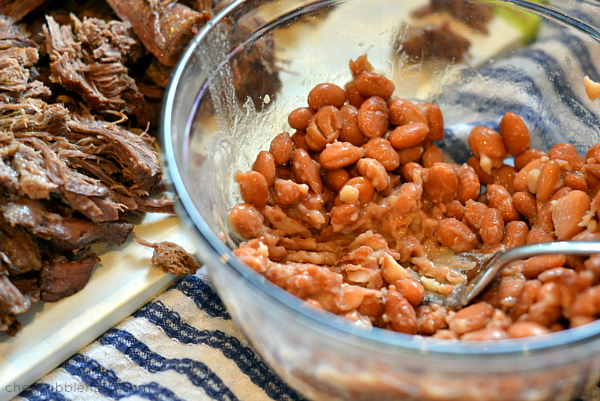 Slow Cooker Cowboy Pot Roast - Chew Nibble Nosh 5