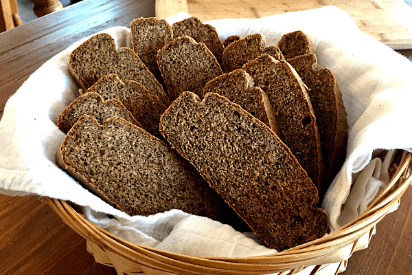 Easy Paleo Bread with Almond Butter and Flax Seed
