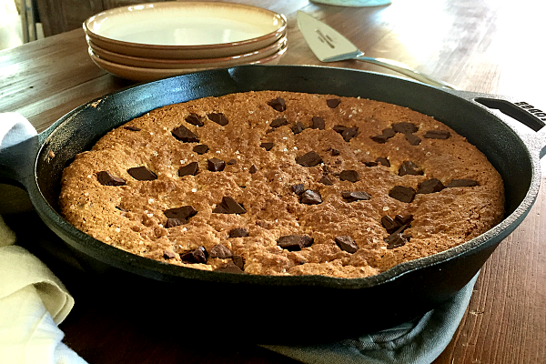 Paleo Chocolate Chip Pizookie