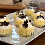 Mini Oreo Cheesecakes | Super simple and so delicious, these easy cheesecakes go fast!
