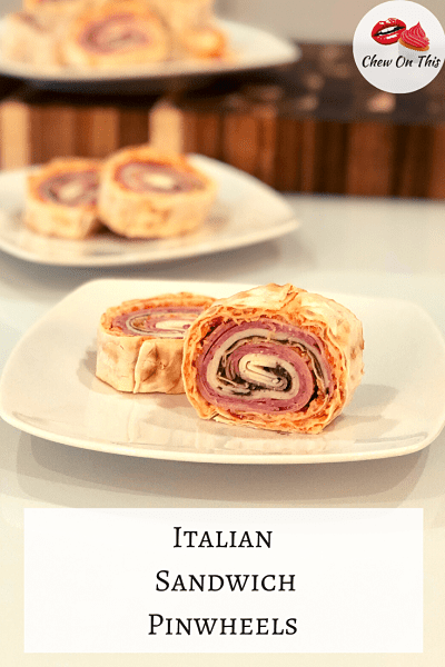 Muffuletta Pinwheel Sandwiches | Salami tell ya about these tasty bites! All the flavor of a loaded Italian sandwich in an easy to eat finger food!