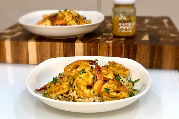 Moroccan Spiced Shrimp
