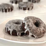 Chocolate Banana Donuts