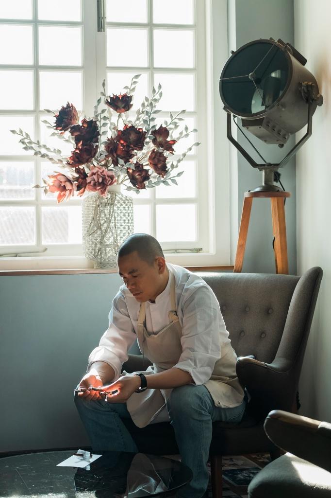 《初心》把江振誠廚師生涯一段高峰記錄下來。