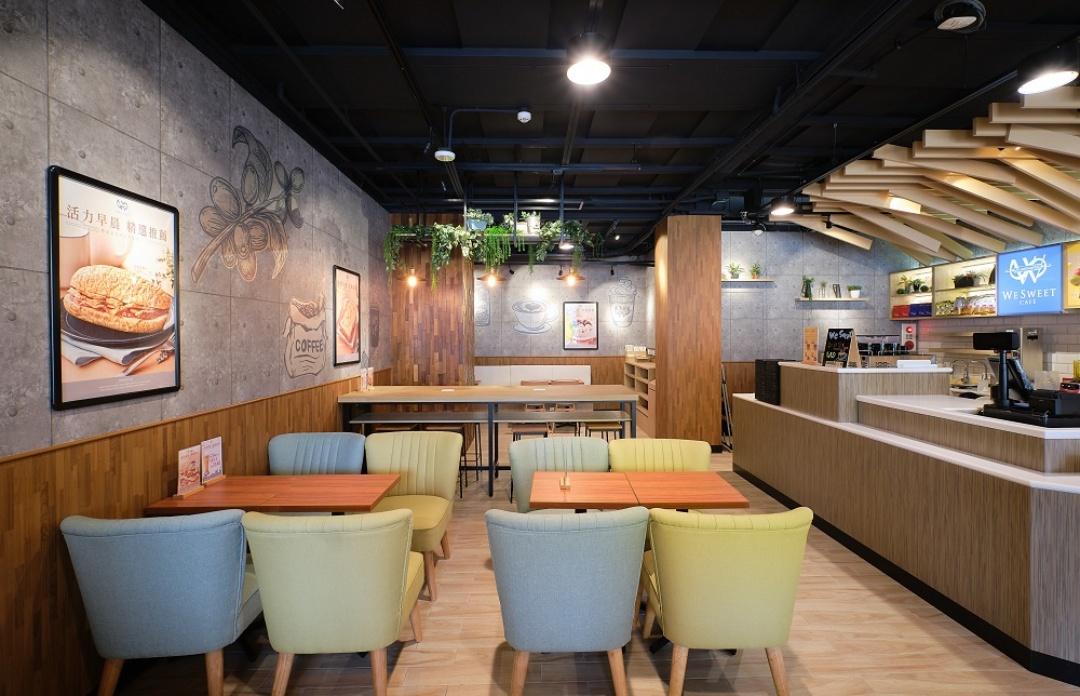 北部首間we Sweet Café 7月4日開幕。