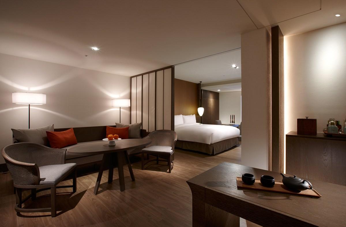 台南晶英酒店 16坪小西門和洋套房junior Family Suite