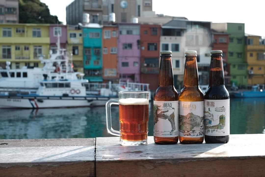 台灣風土在地精釀 基隆特色精釀啤酒,雞籠啤酒可於好好集櫃上現場購買(圖片由台灣風土在地精釀提供)