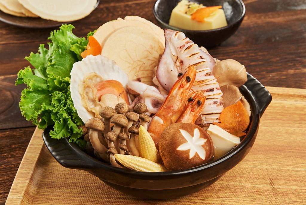 豪華海鮮昆布鍋
