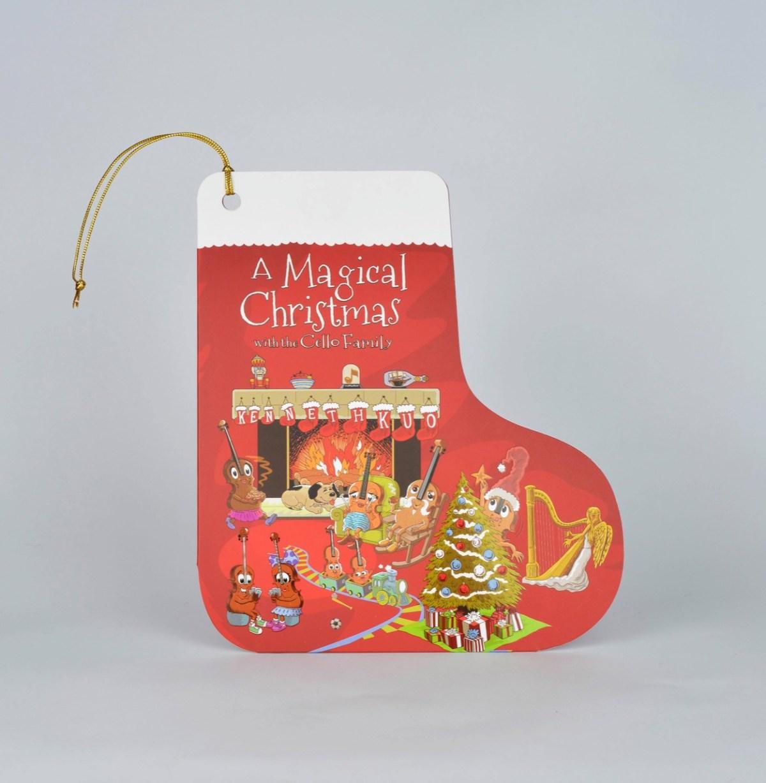 郭虔哲〈大提琴家族:魔幻聖誕〉 Cover 2