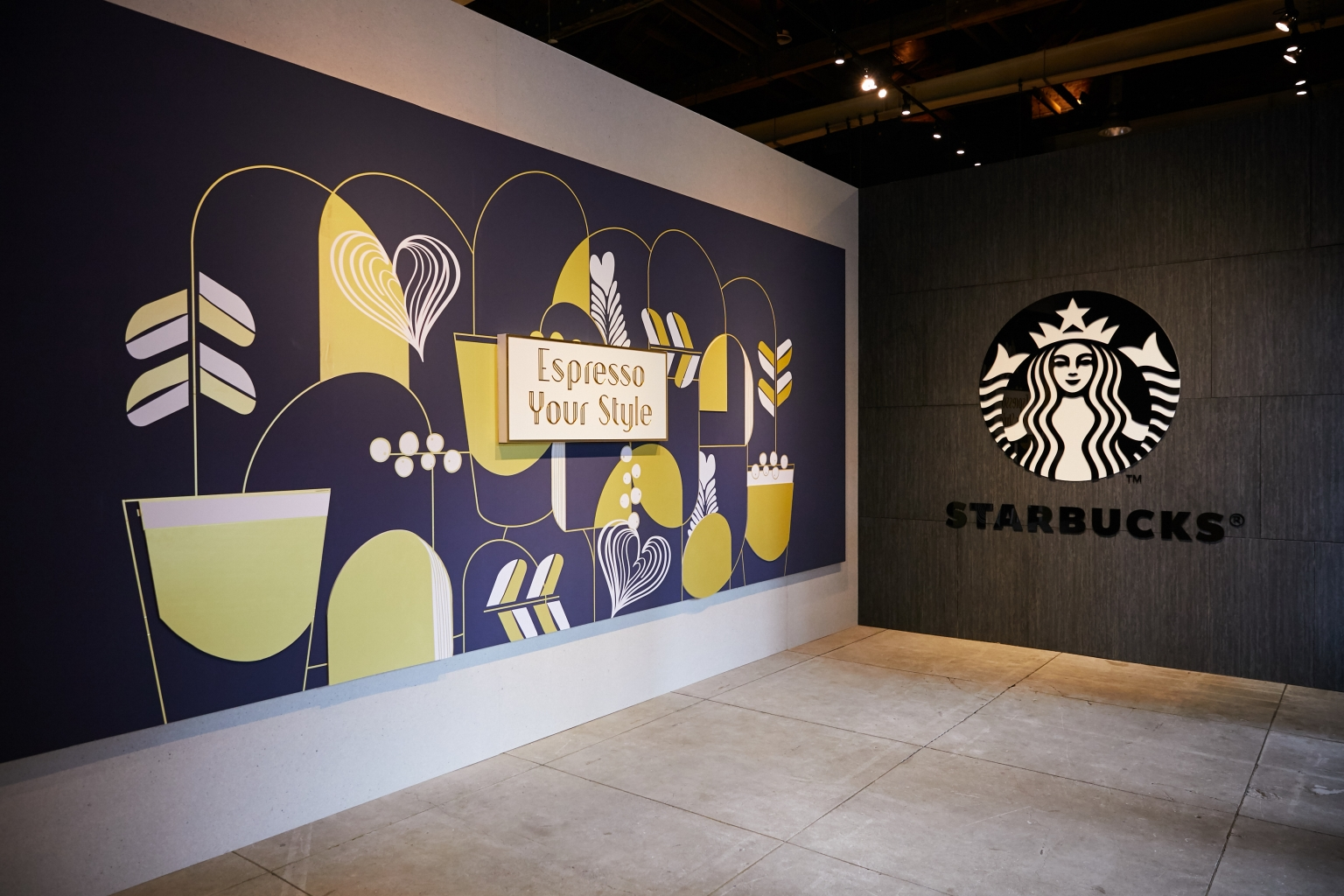 2019 Starbucks Coffee Journey咖啡旅程特展入口處