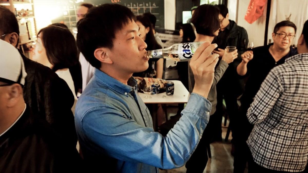 厭世的人千萬別喝CASS:CASS韓國啤酒
