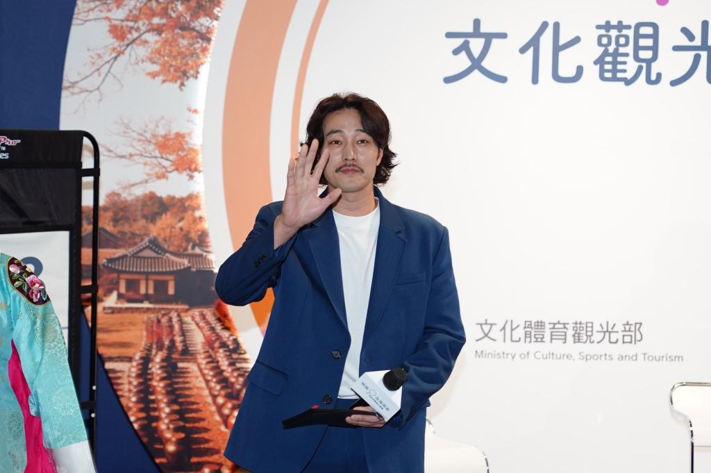 Itf最大國家形象館「韓國館」請到男神演員蘇志燮出席開幕式並舉辦見面會