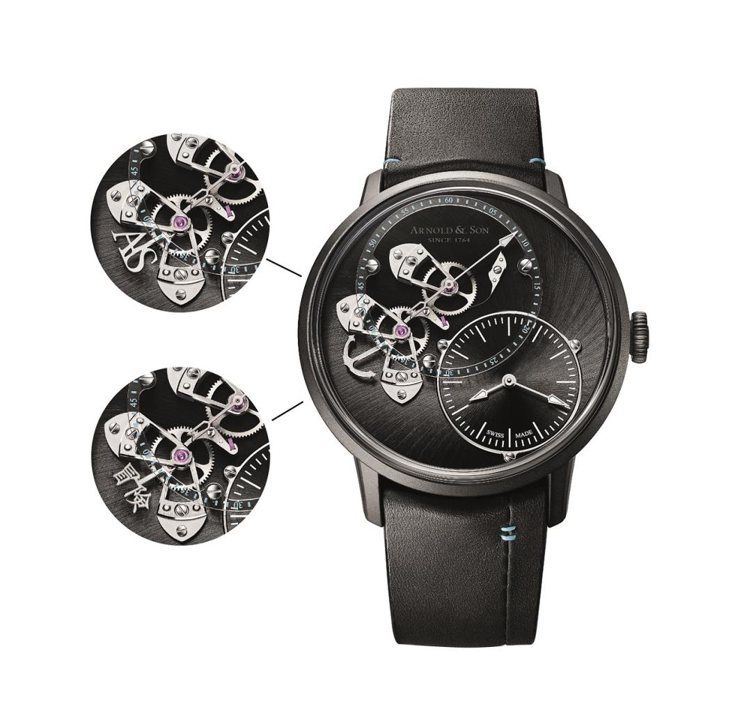 Only Watch除了是獨一無二錶款以外,更可以客製dstb錶盤跳秒腕錶的靈魂部件 秒針,甚至可以刻上中文字。