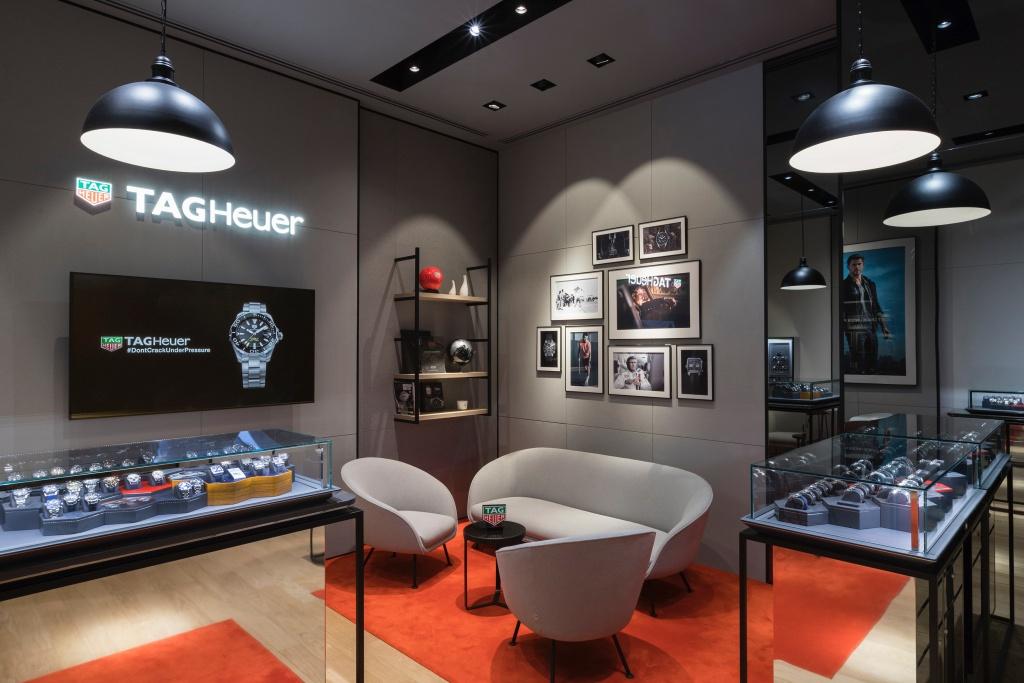 Tag Heuer泰格豪雅全新台北101專賣店,提供錶迷更舒適的體驗空間
