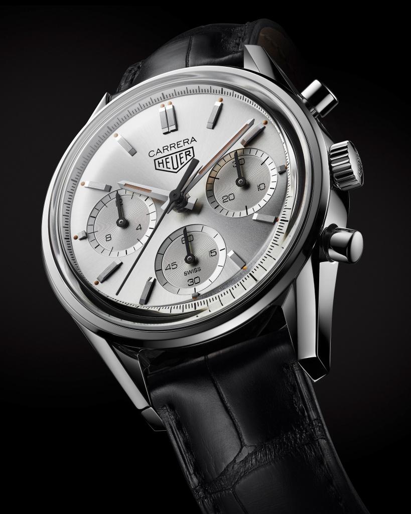 Tag Heuer Carrera 160週年銀色限量腕錶