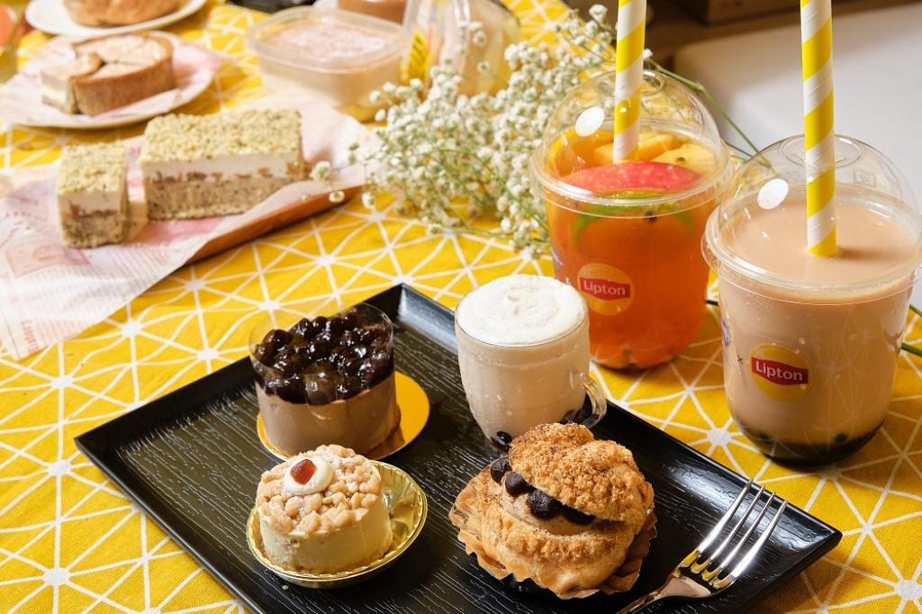 We Sweet Café╳立頓快閃聯名咖啡廳,招牌飲品、珍奶系甜點全台獨家販售。
