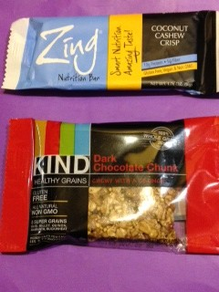 I am a fan of LaraBars® but also tried Zing® bars. For me, Lara wins. Kind® are very good also, with lots of flavors, and many loaded with heart-healthy nuts.
