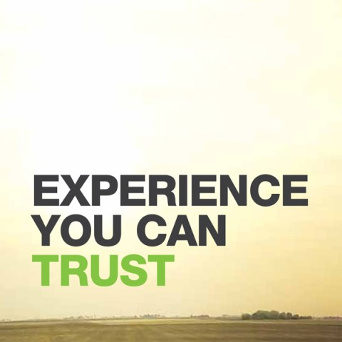Experience You Can Trust