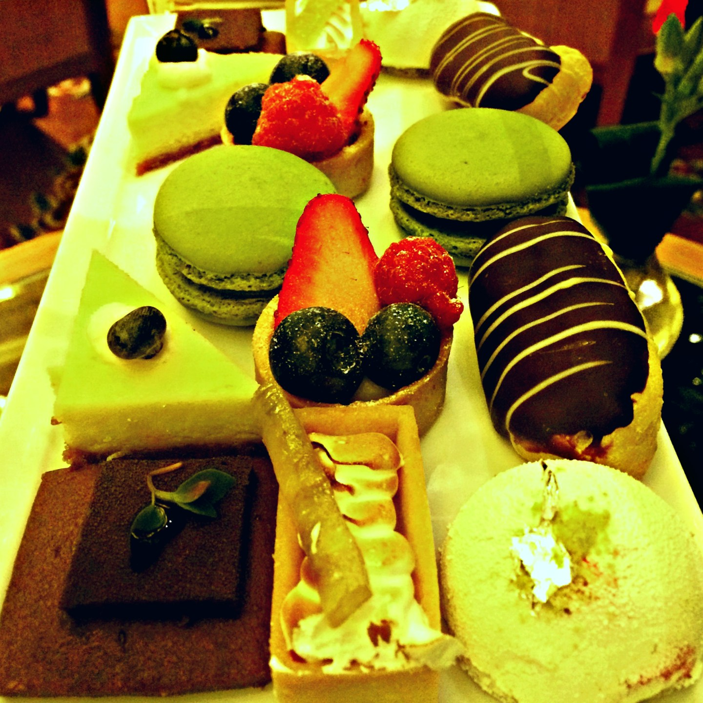 [Desserts on desserts on desserts!]