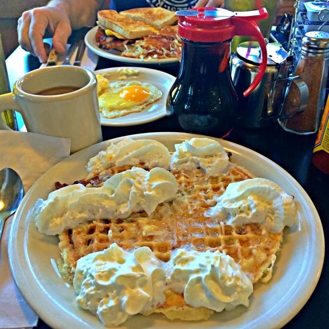 Coconut waffles