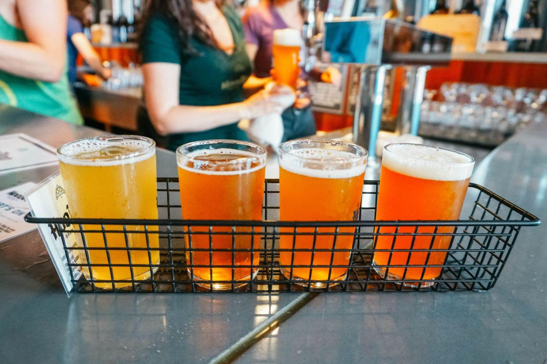 Visit HooDoo Brewery, a popular watering hole with great craft beer in Fairbanks, Alaska.