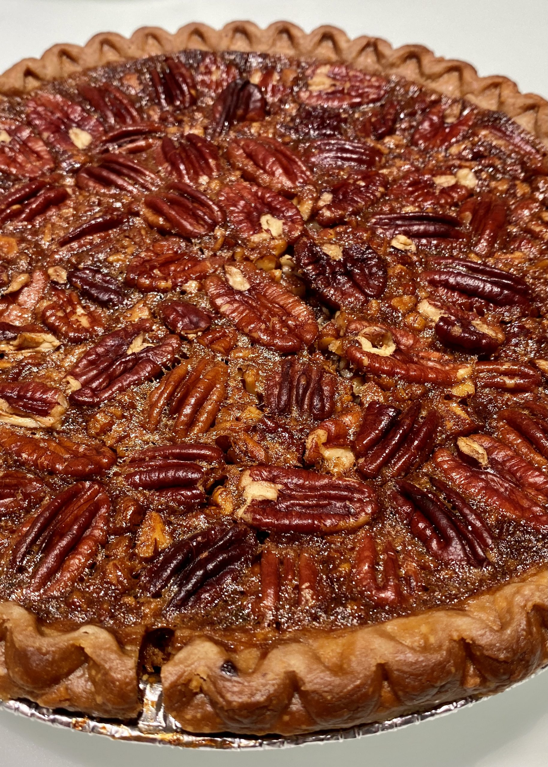 Port wine and pecan pie