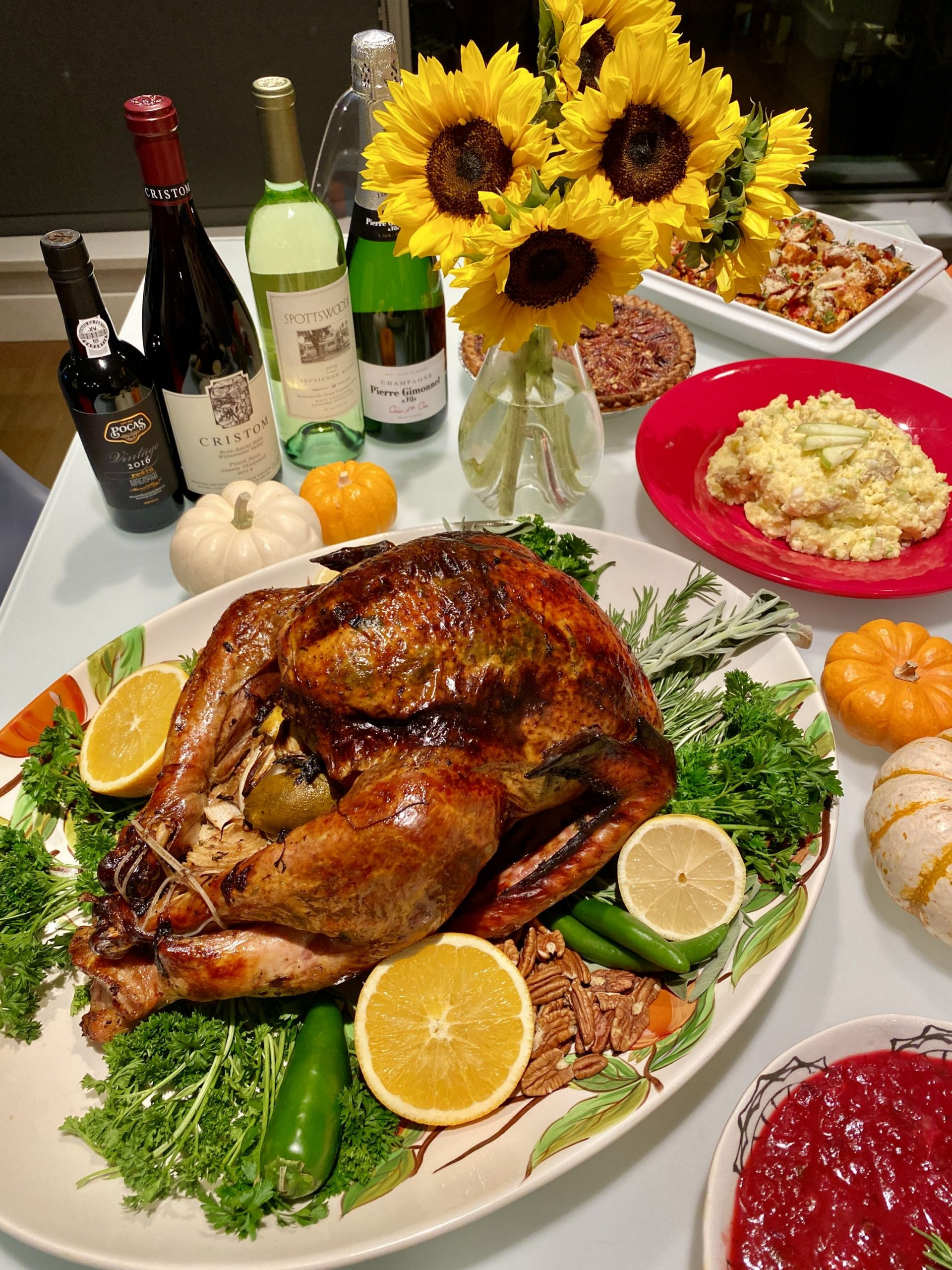 The final turkey shot!
