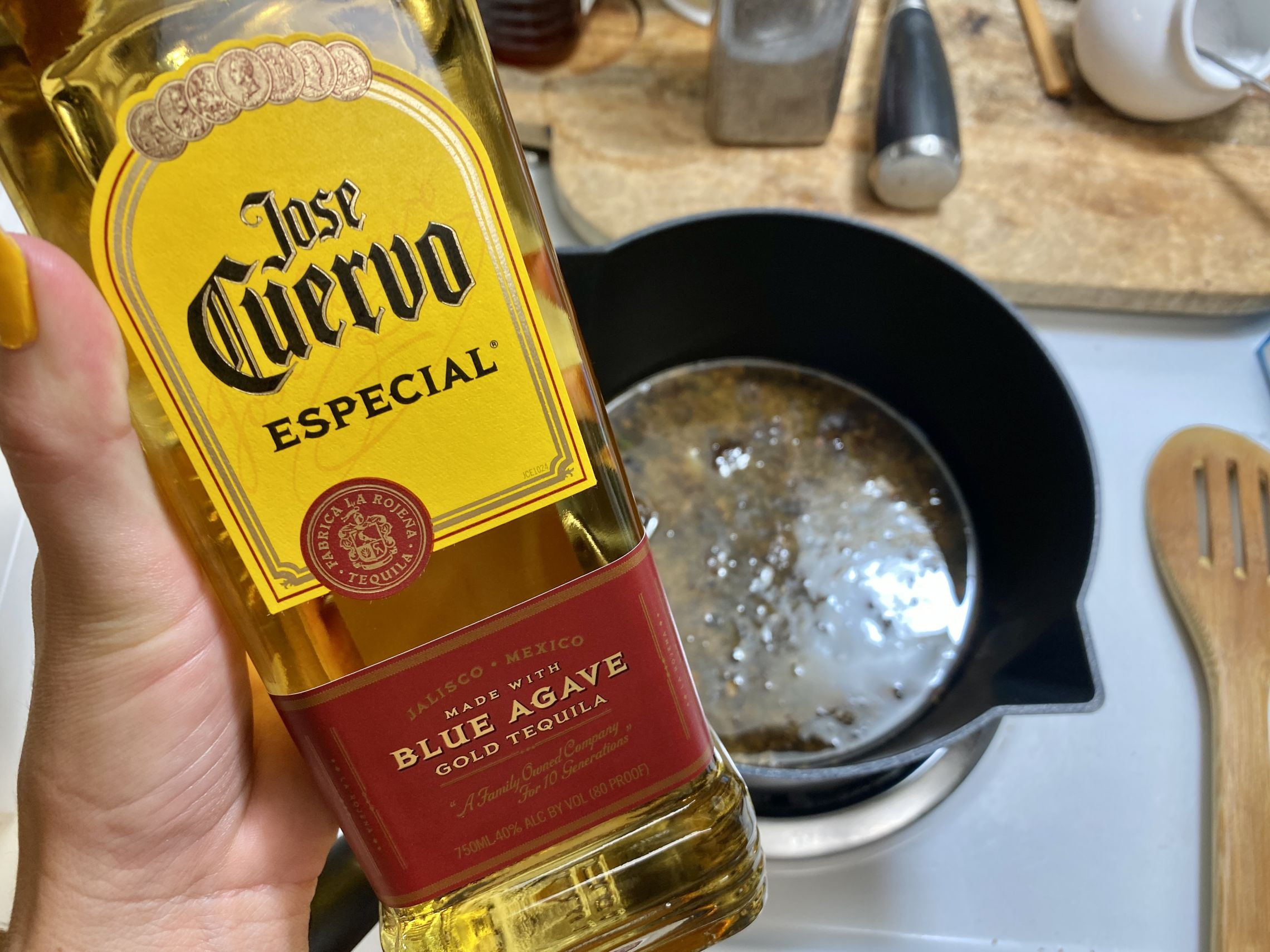 Tequila au jus.