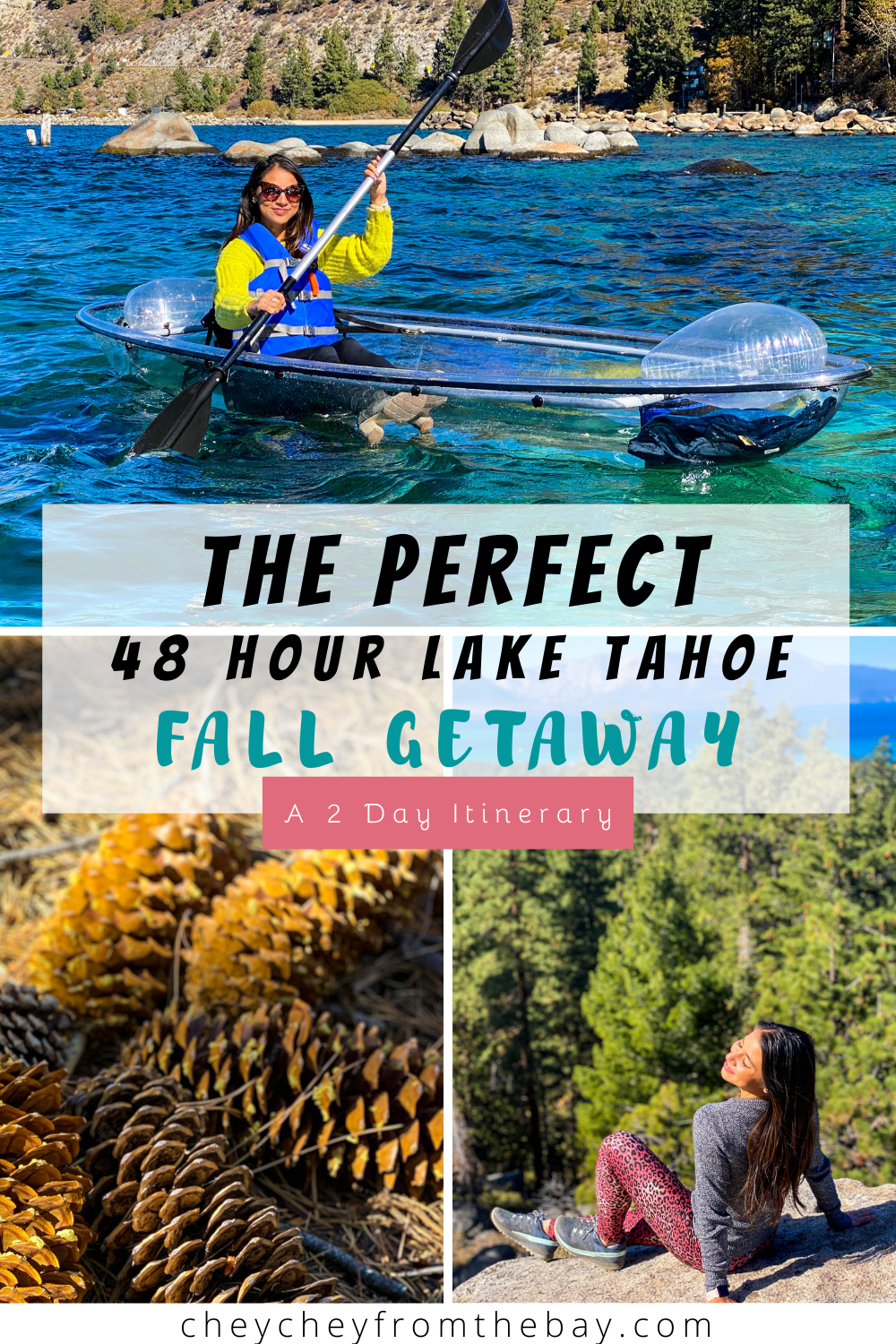 Here's your perfect two-day fall itinerary for South Lake Tahoe!