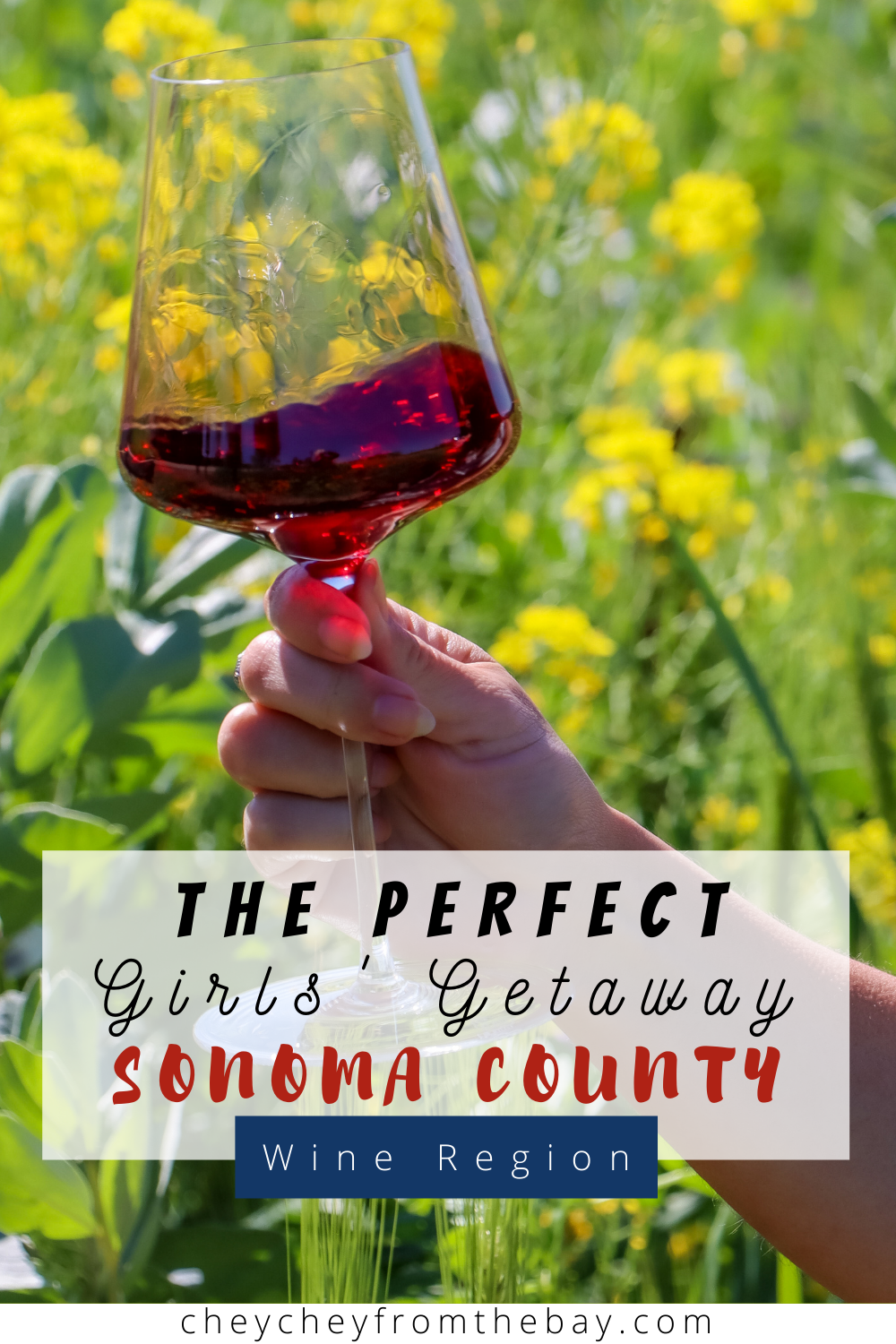 The perfect girls' getaway in Sonoma Wine Country.