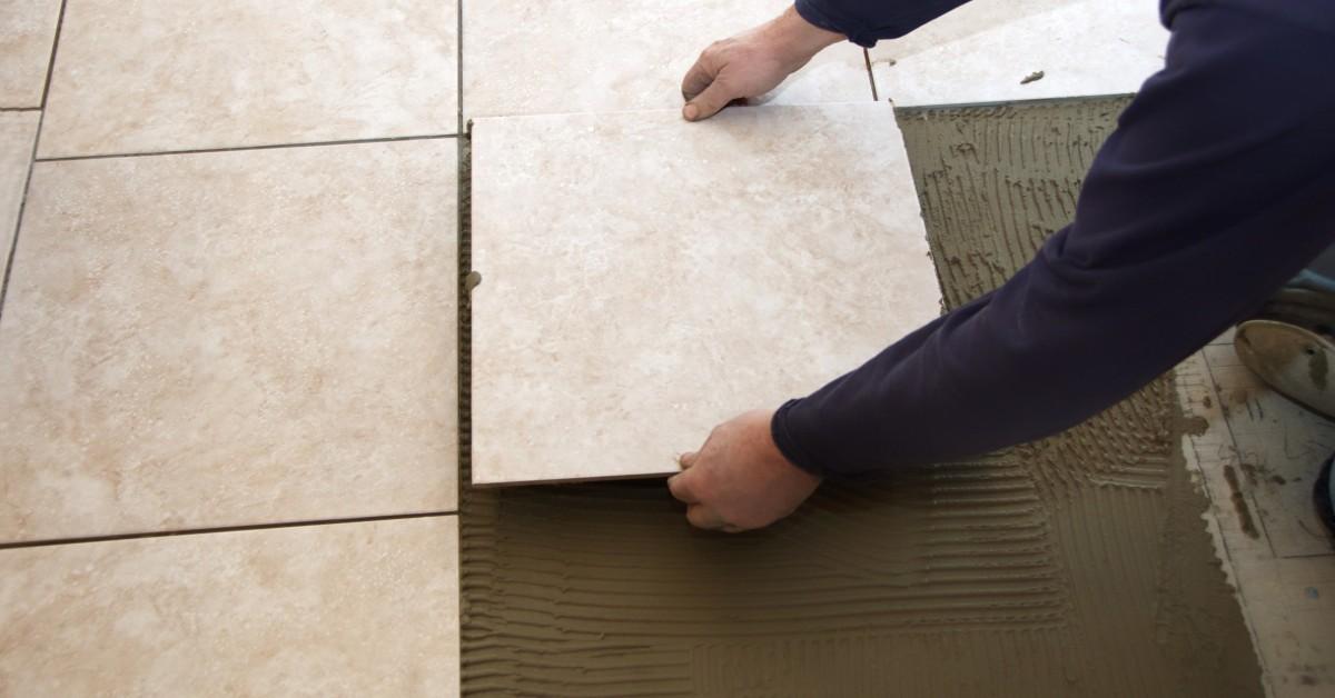 how to lay tile cheyenne hauling www.cheyennehauling.com handyman services