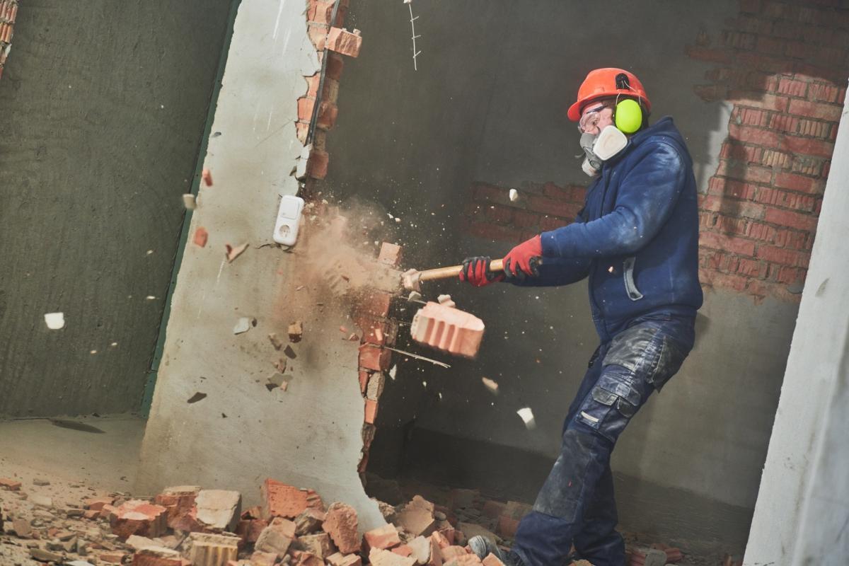 should you diy demolition www.cheyennehauling.com