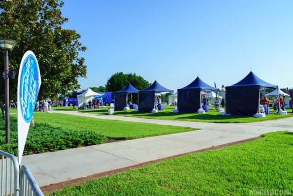 american idol tents