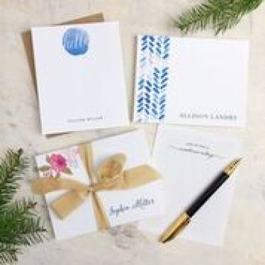 Basic Invites stationery