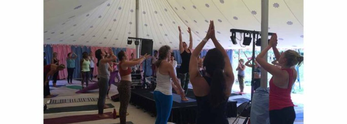Glastonbury Yoga Connects July 2017