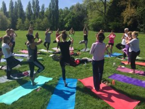Yoga in Chinbrook Meadows
