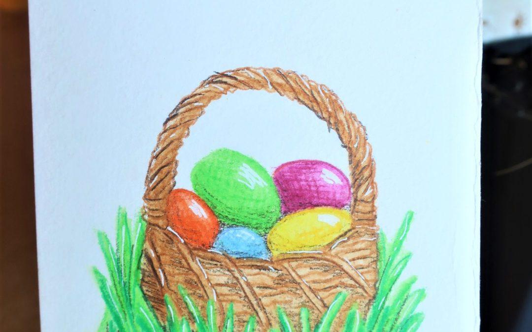 Cartes à offrir n°1 : Pâques