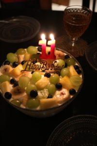 米粉のスコップケーキ, 米粉の誕生日ケーキ, 米粉ケーキ, 米粉スイーツ