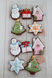 クリスマスレッスン2019, クリスマスアイシングクッキー, クリスマスレッスン