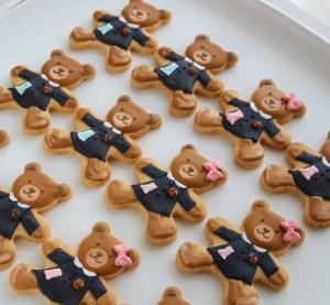 卒園記念品, 園福アイシングクッキー, 幼稚園制服モチーフ, オリジナルアイシングクッキー, オーダーメイド